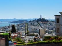 Opinión de San Francisco Foto de archivo libre de regalías