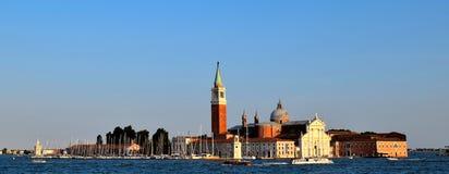 Opinión de San Giorgio Maggiore, Venecia Imagen de archivo libre de regalías