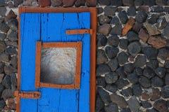 Opinión de Santorin Imagen de archivo libre de regalías