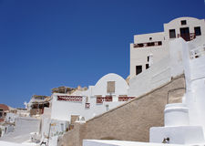 Opinión de Santorini Fotografía de archivo libre de regalías