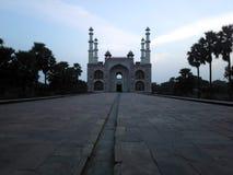 Opinión de Sikandra por dentro del mirador Foto de archivo libre de regalías