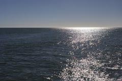 Opinión de Sunny Horizon sobre Océano Atlántico Imagen de archivo
