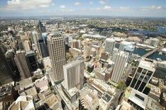 Opinión de Sydney imagen de archivo libre de regalías