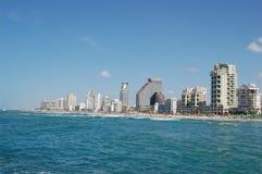 Opinión de Tel Aviv Foto de archivo libre de regalías
