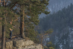 Opinión de Tomasovsky en el paraíso de Eslovaquia Imagen de archivo libre de regalías