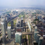 Opinión de Toronto, Ontario, Canadá del horizonte Fotografía de archivo