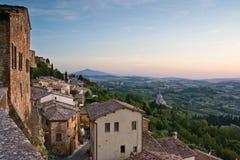 Opinión de Toscana fotos de archivo libres de regalías