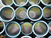 Opinión de tubo de agua Fotografía de archivo