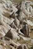 Opinión de Uchisar - Cappadocia Foto de archivo libre de regalías