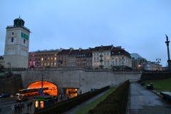 Opinión de Varsovia imagen de archivo libre de regalías