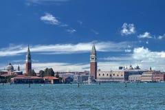 Opinión de Venecia del lido Foto de archivo libre de regalías