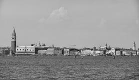 Opinión de Venecia del lido Fotografía de archivo libre de regalías