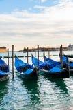 Opinión de Venecia sobre un brillante Imagen de archivo