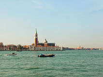 Opinión de Venezia (Venecia) de la basílica de San Giorgio Maggiore Imagenes de archivo