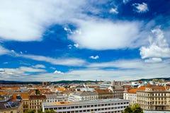 Opinión de Viena, Austria foto de archivo