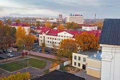 Opinión de Vitebsk Imagen de archivo libre de regalías
