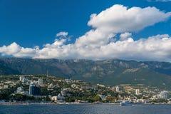Opinión de Yalta del mar Foto de archivo