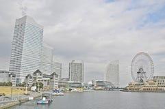 Opinión de Yokohama Imagen de archivo libre de regalías