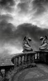 Opinión del ángel Fotos de archivo