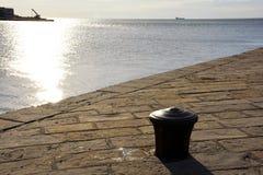 Opinión del ‹del †del ‹del †del mar de Trieste Imágenes de archivo libres de regalías
