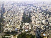 Opinión del abejón de la ciudad de Ho Chi Minh fotos de archivo