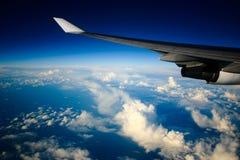 Opinión del aeroplano Imagen de archivo libre de regalías