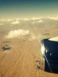 Opinión del aeroplano de un postre de Arizona Imagenes de archivo