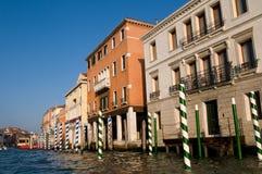 Opinión del agua de Venise Italia fotografía de archivo libre de regalías