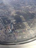 Opinión del aire de Viena Austria imagen de archivo