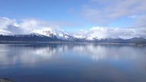 Opinión del astillero que sorprende en Alaska almacen de metraje de vídeo