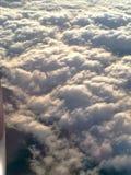 Opinión del avión de la ventana Fotografía de archivo