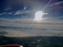Opinión del avión de la ventana Imágenes de archivo libres de regalías