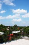 Opinión del balcón Fotos de archivo