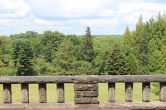 Opinión del balcón foto de archivo