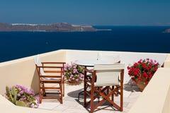 Opinión del balcón del verano Imágenes de archivo libres de regalías