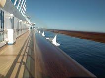 Opinión del barco de cruceros Foto de archivo