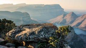 Opinión del barranco del río de Blyde Fotografía de archivo libre de regalías