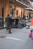 Opinión del barrio francés Imagen de archivo libre de regalías