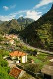 Opinión del camino de la montaña (2) Fotografía de archivo