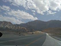 Opinión del camino de Rusthaq Imagenes de archivo