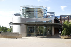 Opinión del campus de la universidad del condado de Tarrant fotos de archivo