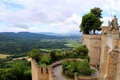 Opinión del castillo Imágenes de archivo libres de regalías