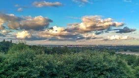 Opinión del castillo de Donnington Fotos de archivo