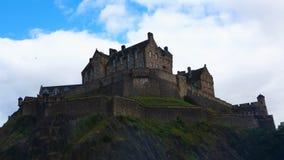 opinión del castillo de Edimburgo, Escocia de 4K UltraHD Timelapse almacen de video