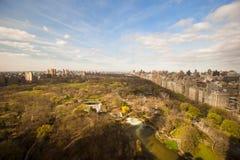 Opinión del Central Park, Manhattan, Nueva York del otoño Imagen de archivo libre de regalías