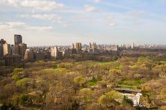 Opinión del Central Park, Manhattan, Nueva York del otoño Imágenes de archivo libres de regalías