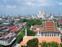 Opinión del cielo del templo Imágenes de archivo libres de regalías