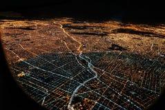 Opinión del cielo tomada del avión Imagen de archivo libre de regalías