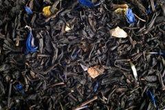Opinión del cierre de la mezcla del té Foto de archivo