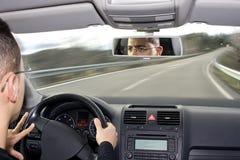 Opinión del coche Imagenes de archivo